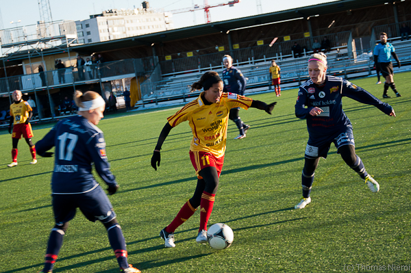 Tyresö FF - Åland United